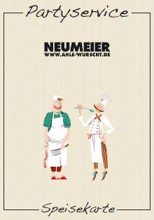 Landfleischerei Neumeier - Prospekt